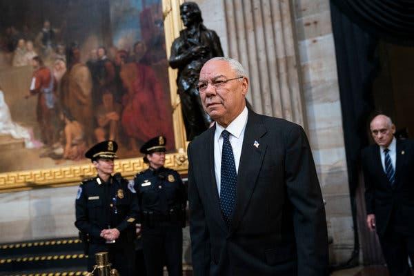 Colin Powell says Vote for Joe Biden – the last Republican President Reproach Trump
