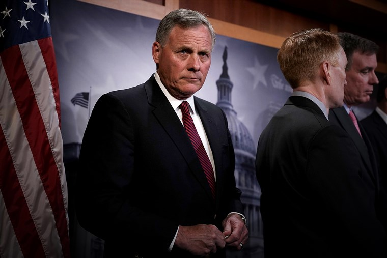On trial for sales of shares, Sen. Richard Burr of Intel Committee Martelletto