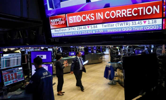 The global stocks plunge as Crown Fears Deepen