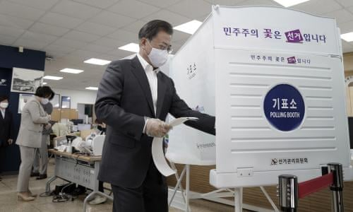 South Korea votes in the middle of the coronavirus. Here's what we can learn States in its efforts to protect voters