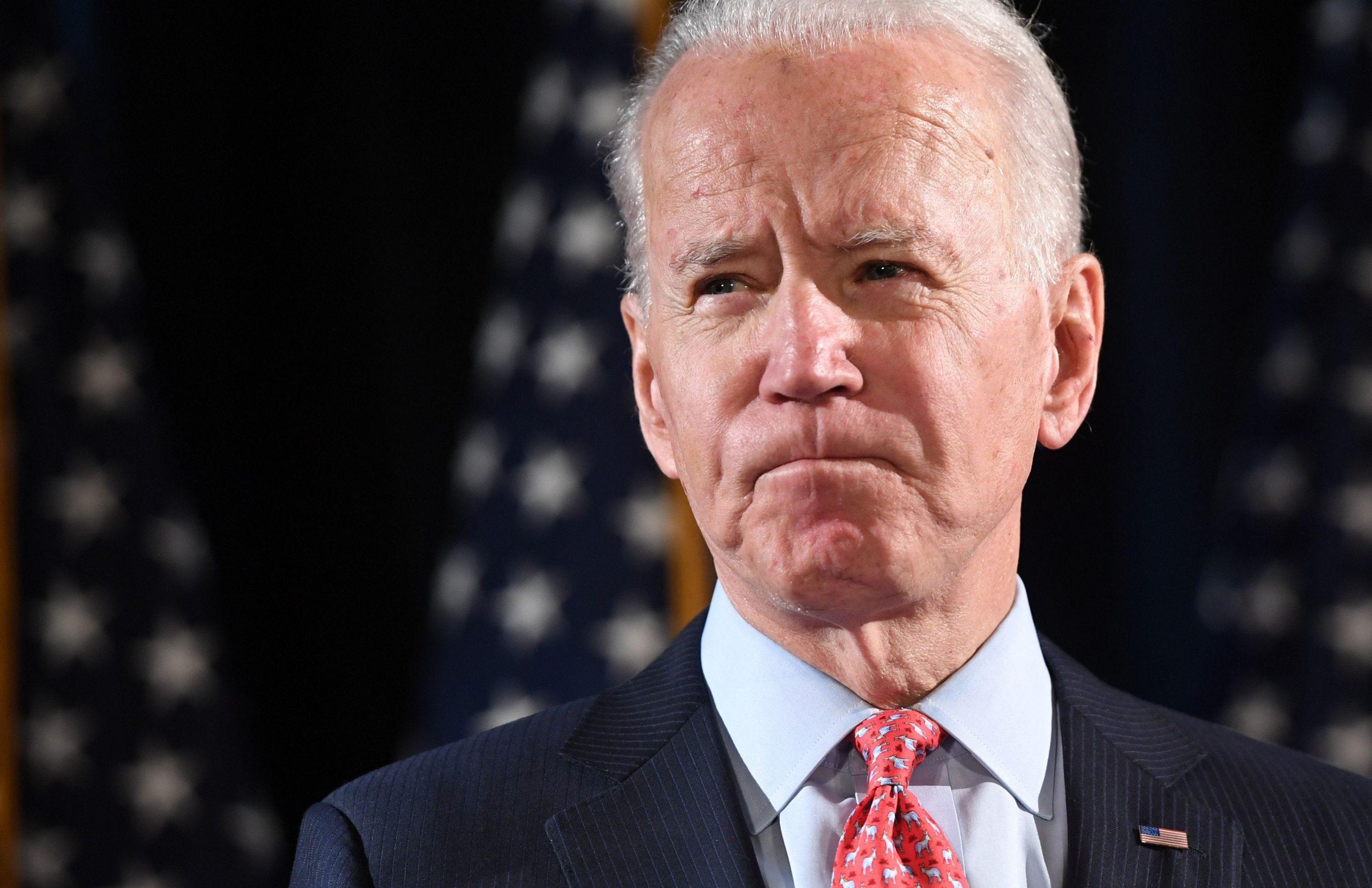 This has never happened. 'Joe Biden Denies Sexual Assault