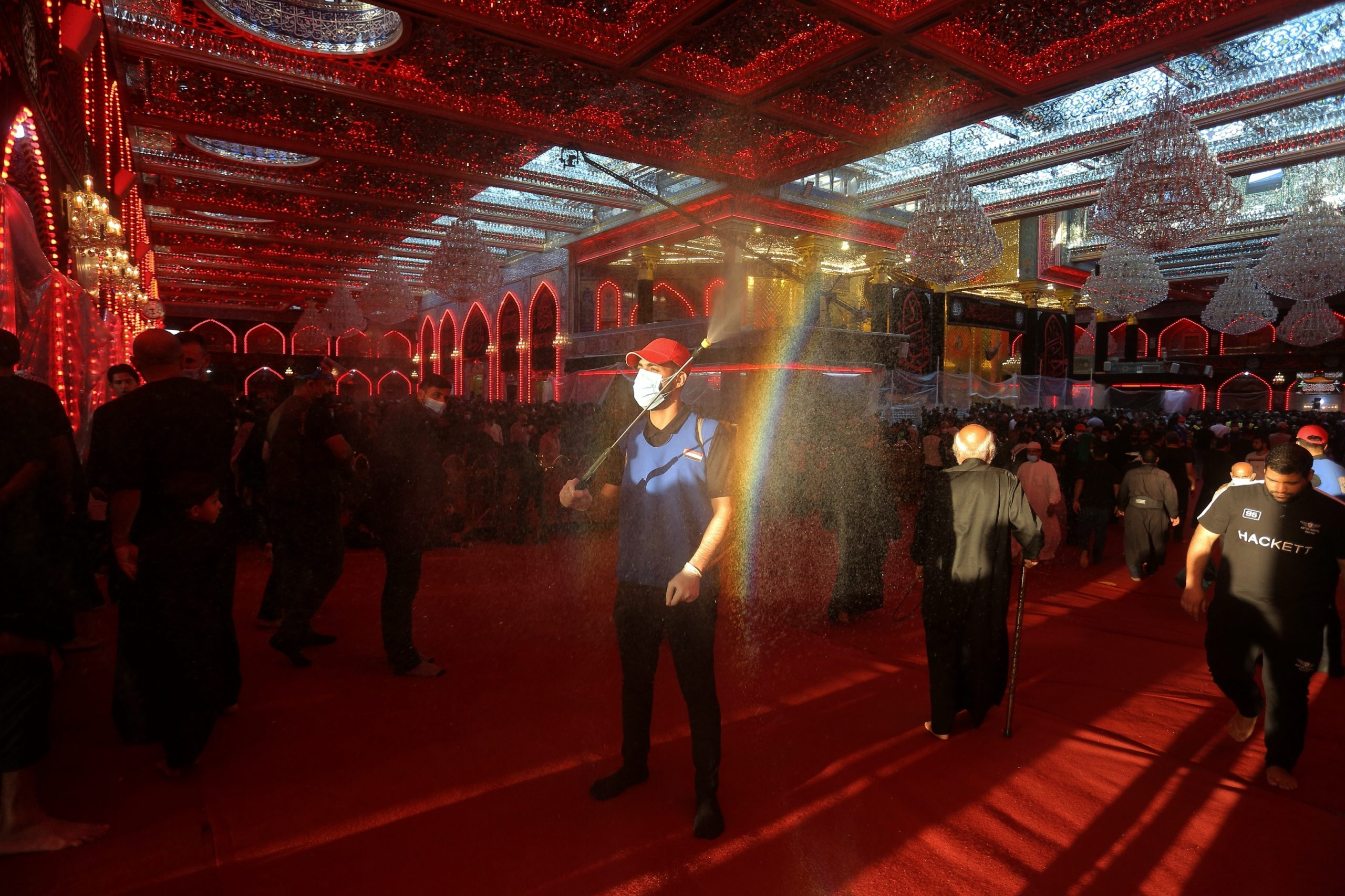 Shiites Mark Holy Day of mourning in the Crown Shadow