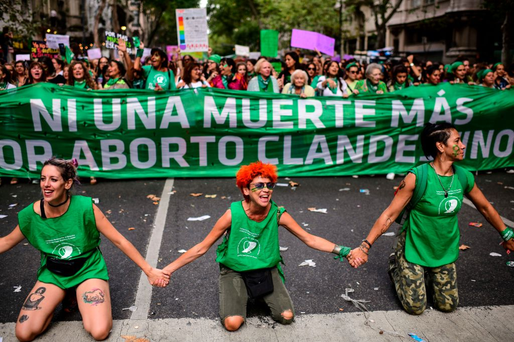 As a network of activists help women abortions in Argentina While Crown Lockdown Get