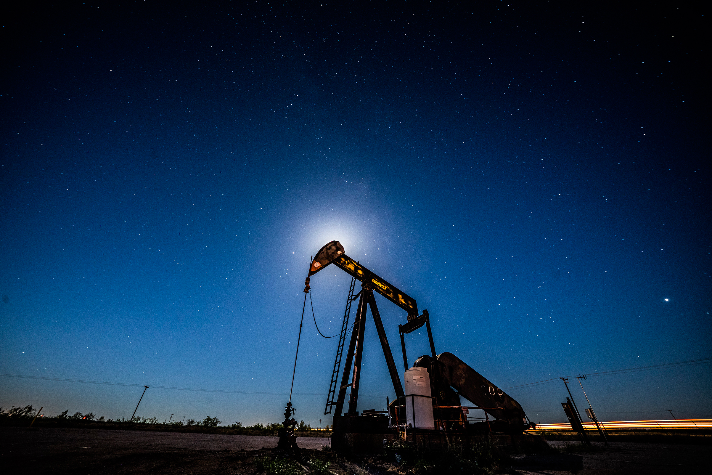 As an oil boom in west Texas has been redesigned over the world