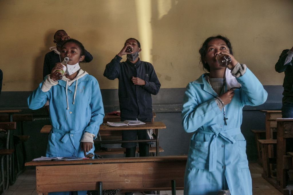 It might work as a cure? Could be.' A herbal remedy for coronavirus is a success in Africa, but experts have their doubts