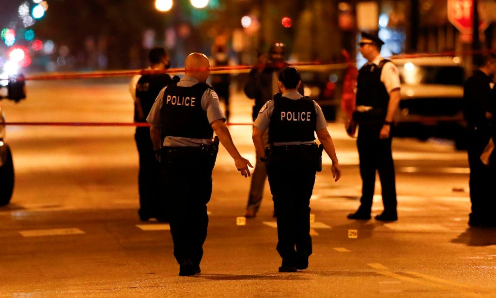 How can hundreds of federal officials transformation of a city with 13,000 police?