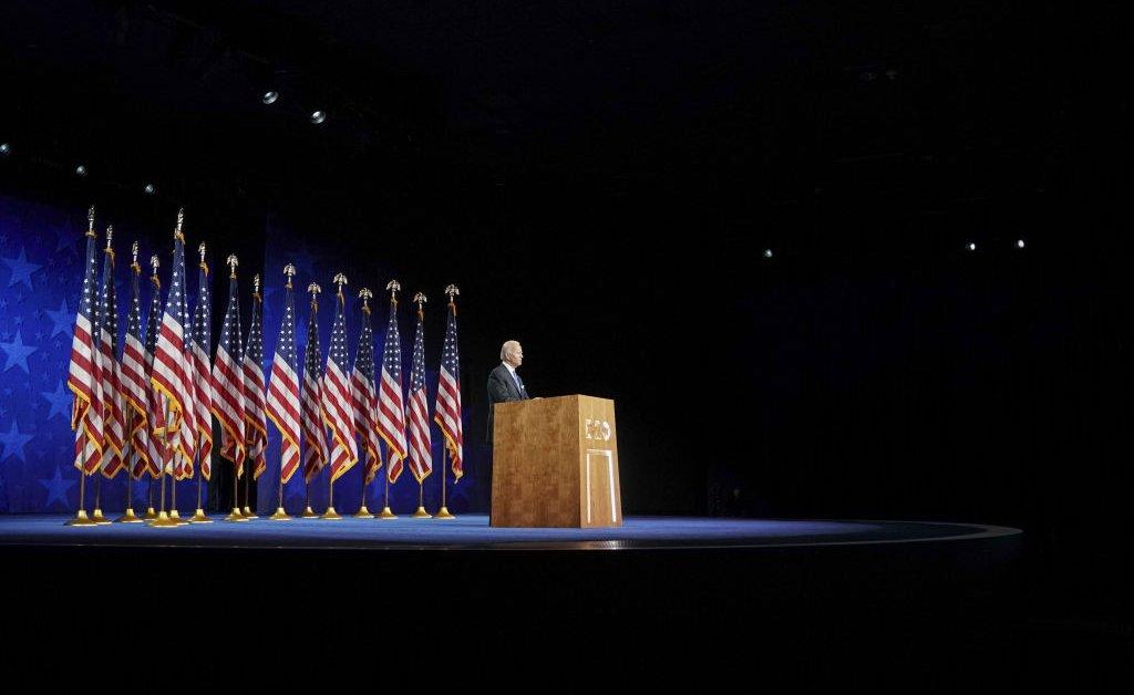 to keep Joe Biden's speech has been waiting all his life