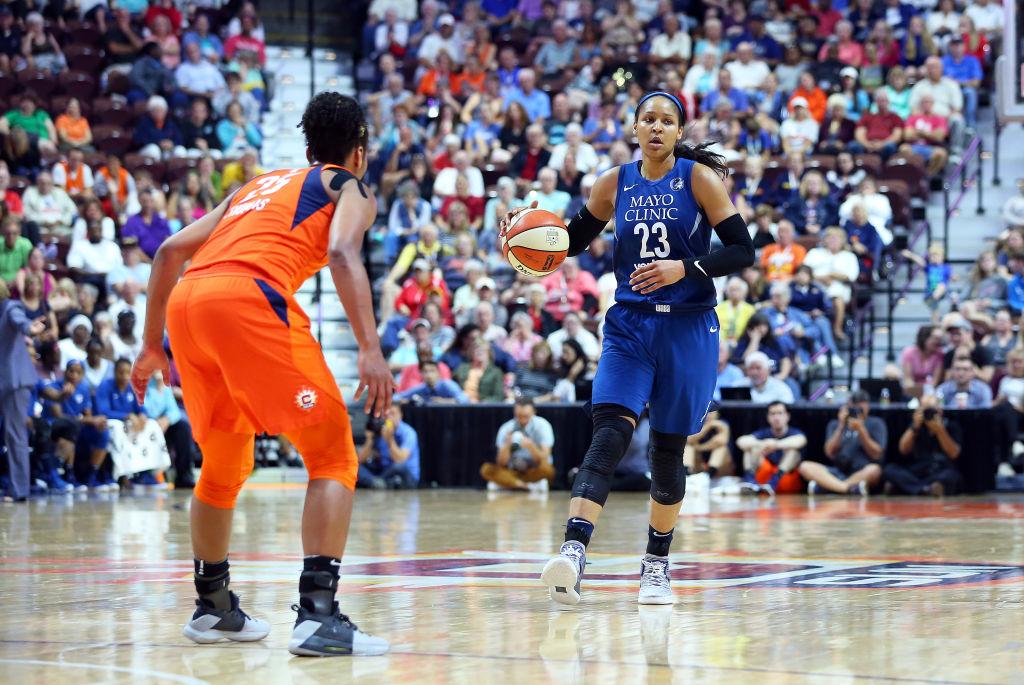 Star basketball Maya Moore Speak George Floyd, protesting police violence and Drew Brees
