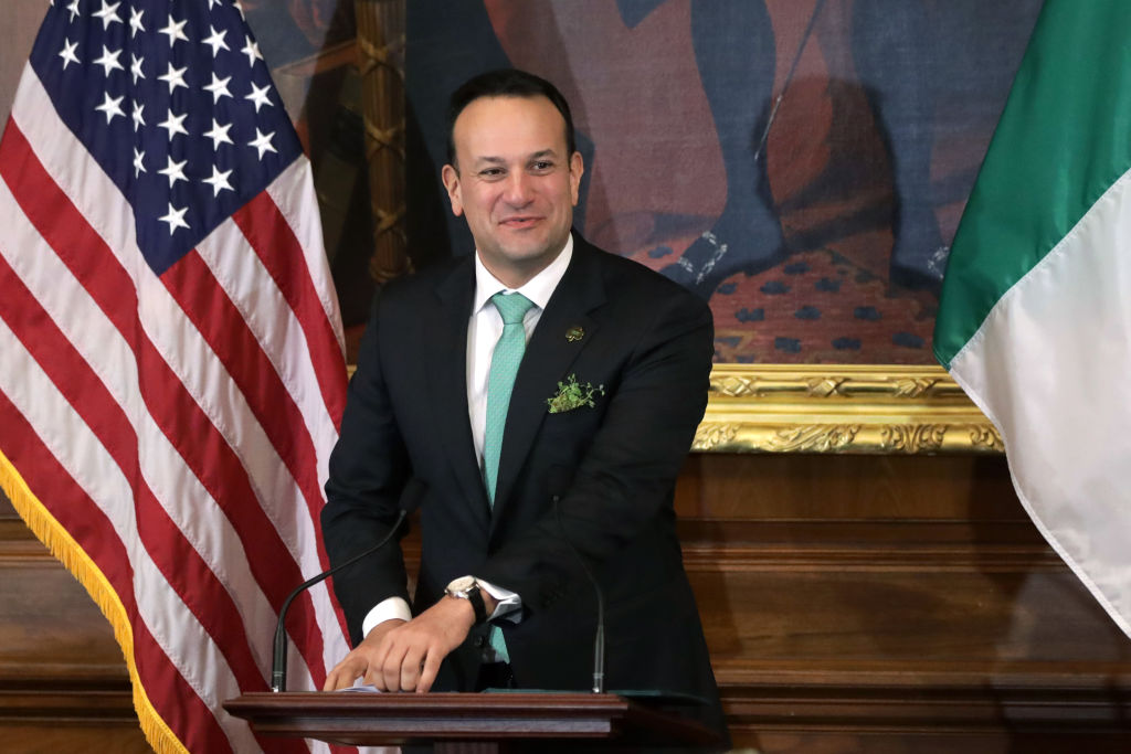 The Irish Prime Minister, to work as a doctor during the country COVID-19 crisis