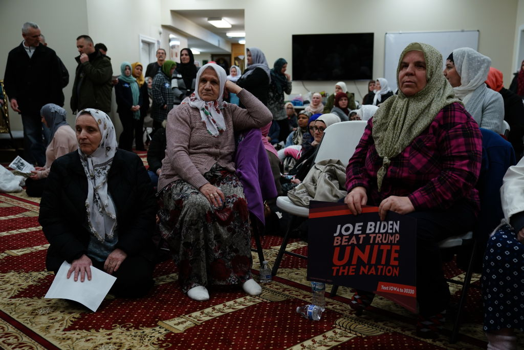 Lawmakers and lawyers calling for the elimination of USAID Office as the official Biden Trump, calls Islamophobia '