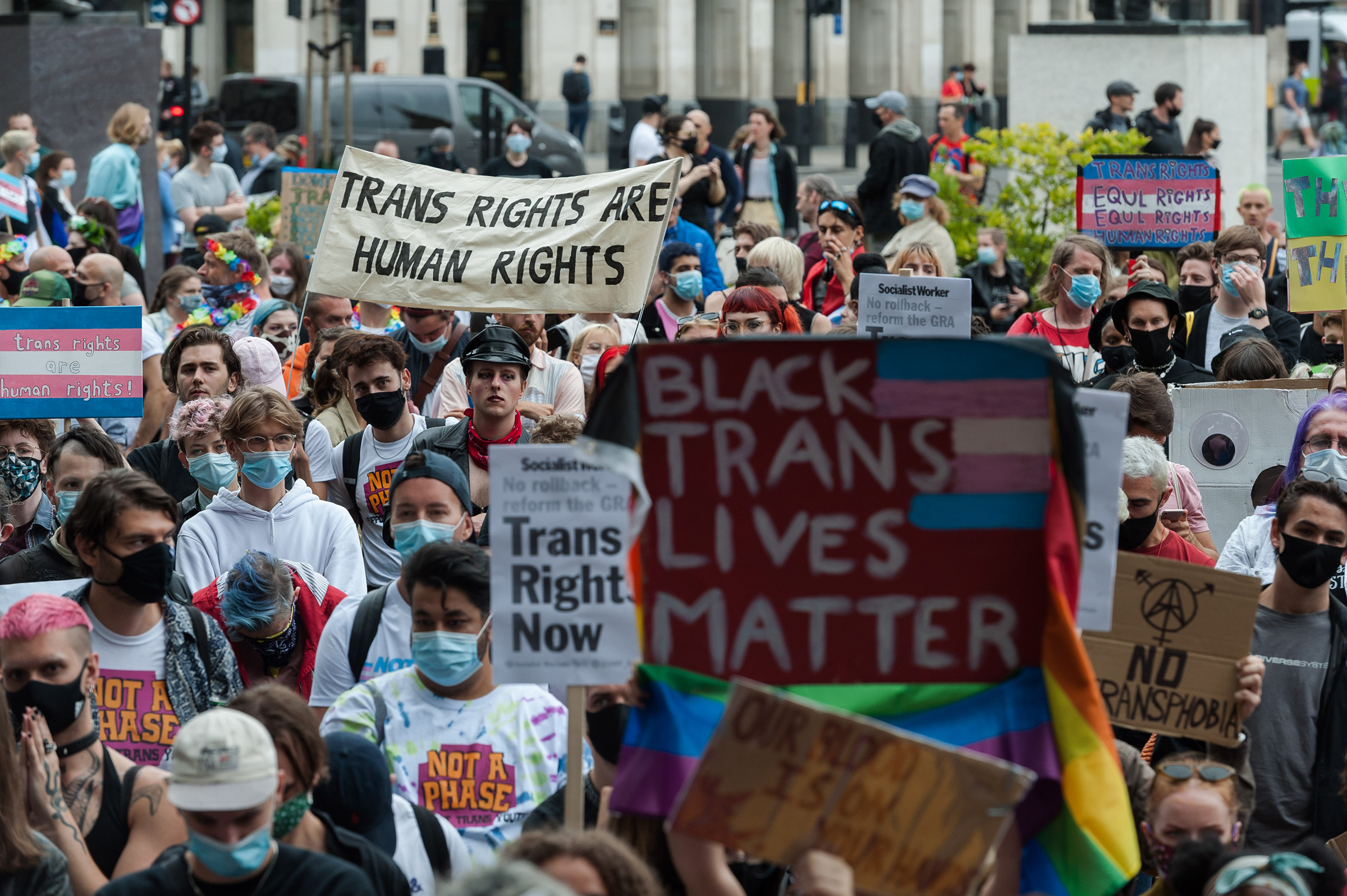 Fears of transgender people are a distraction from the real problems all face women