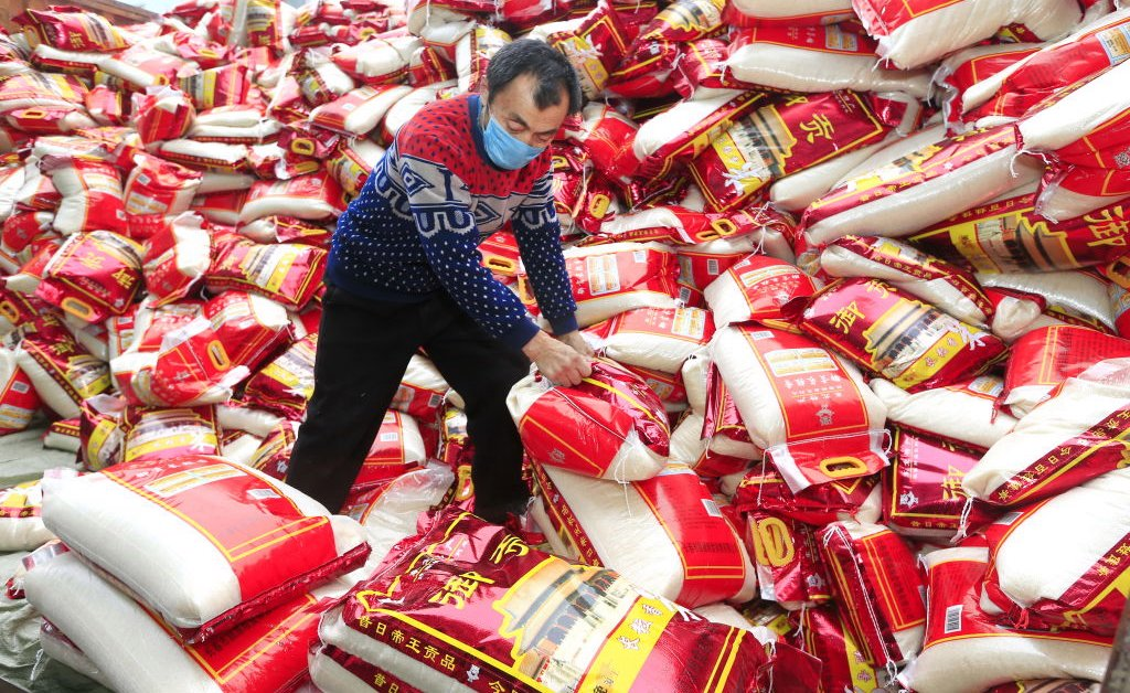 China does not require its citizens to hoard rice under the mounting concerns about global food security
