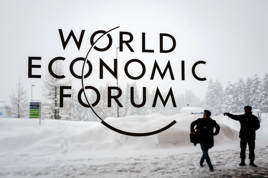 Davos Reset: New poster released for the 50th anniversary of the World Economic Forum, the forum guidance document updated for modern times