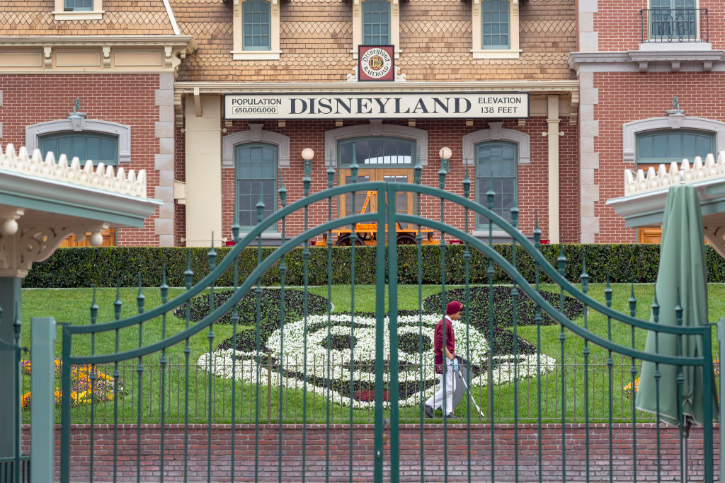 California Disneyland late again was indefinitely
