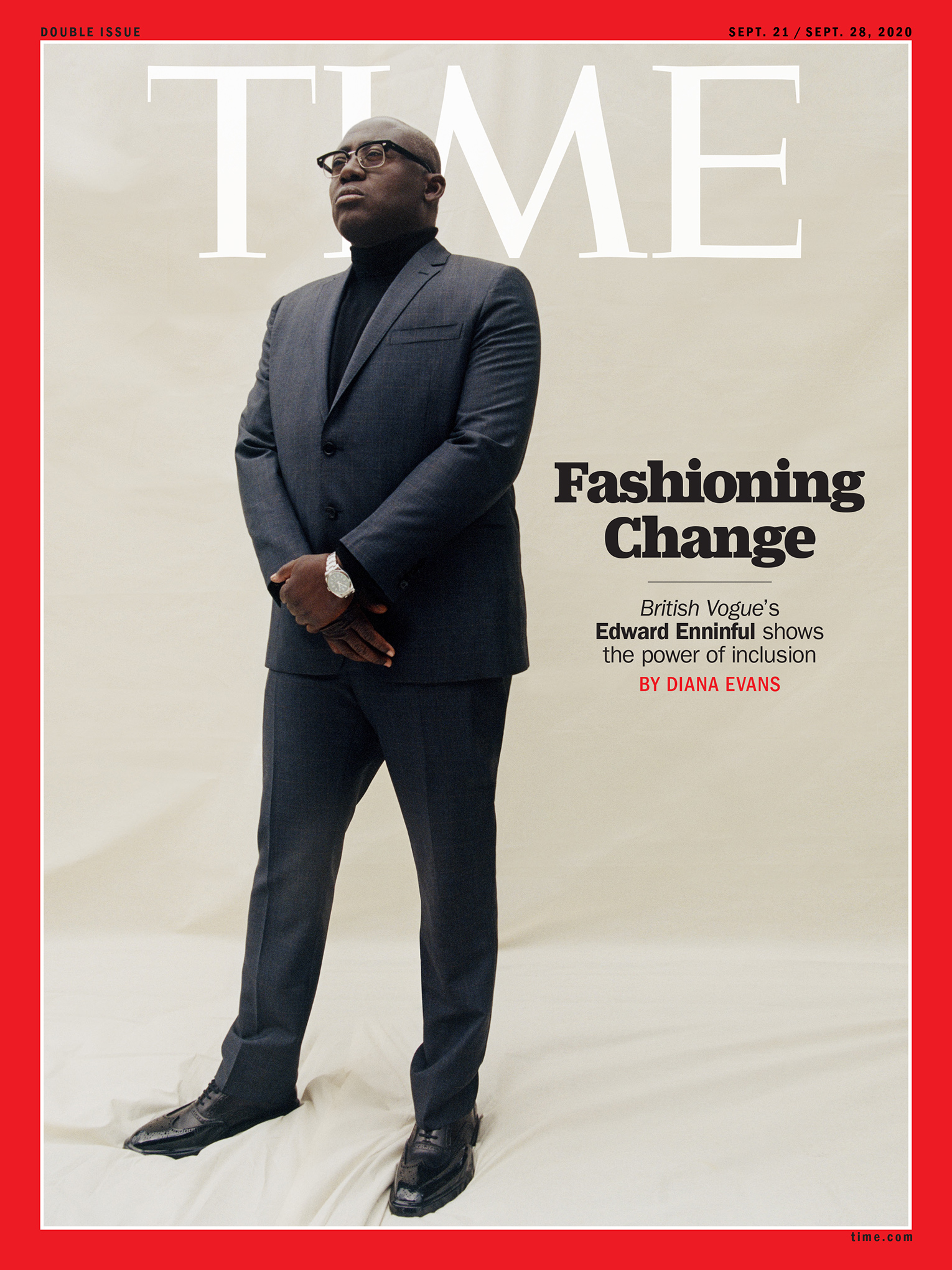 This is not the time to Tiptoeing. 'As British Vogue Edward Enninful shake the world of fashion