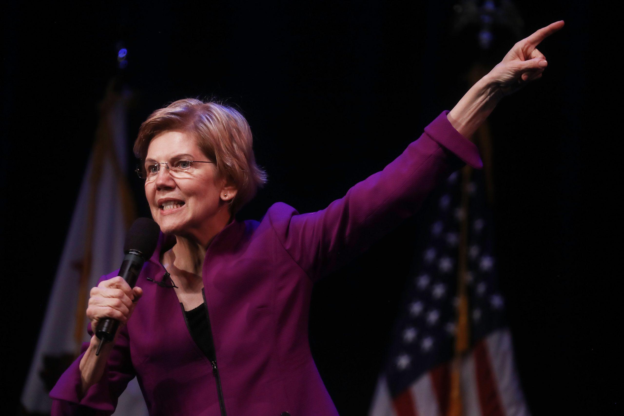 Elizabeth Warren Will Break Up Amazon, Facebook and Google. Experts say it will not be easy