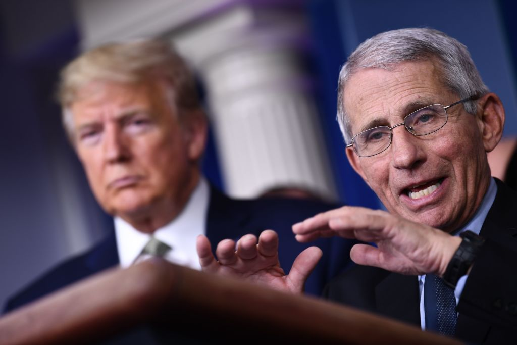 Obviously not.' Fauci said he would not take Trump Oklahoma Rally Among pandemic