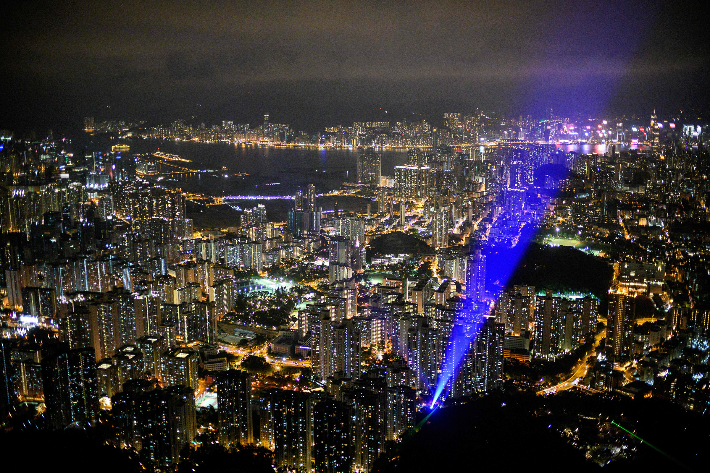 Hong Kong is in the midst of the great struggle for the US-China power captured
