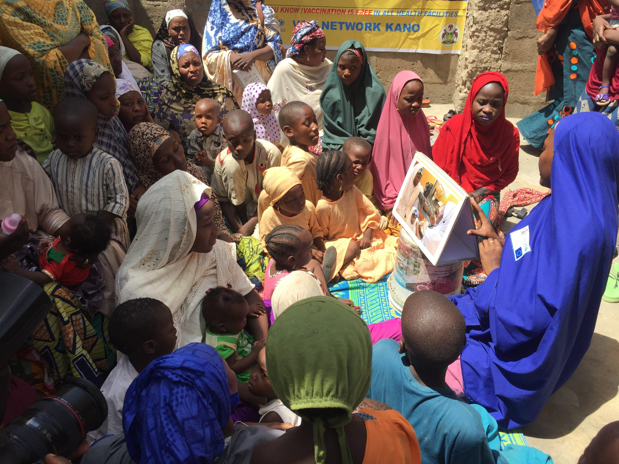 As Imam, king and family gatherings are wiping out polio in Nigeria