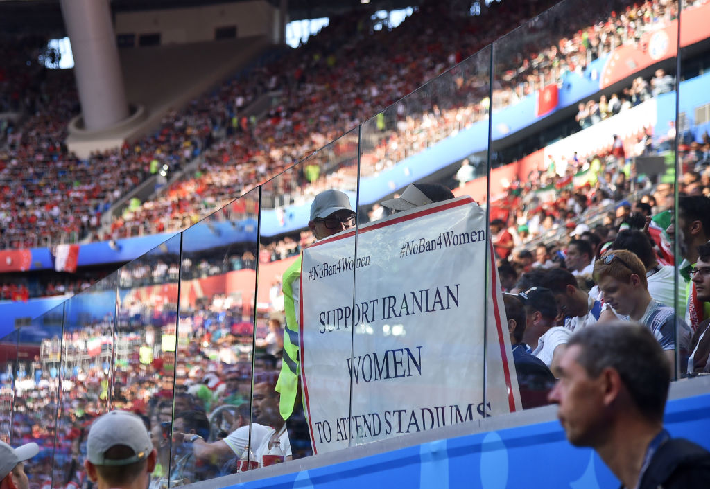 """FIFA says that women have Iran as permitted """"Into football stadiums"""