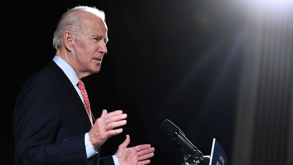 Joe Biden says he would be via e-mail Governors, Dr. Fauci listen 'and' made when President Warren