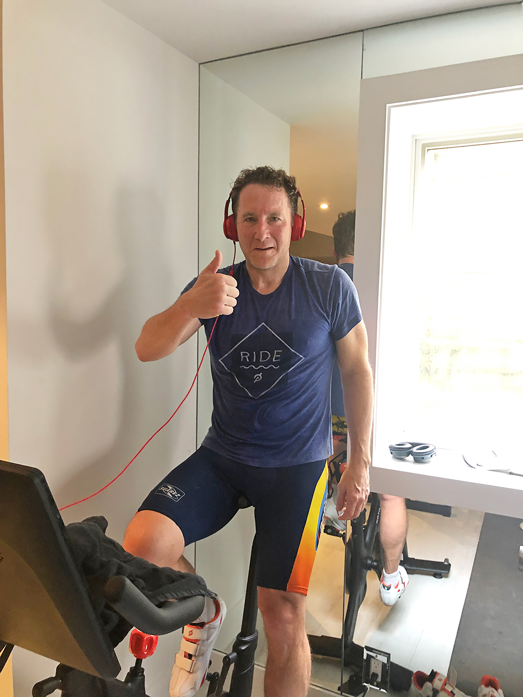 Peloton CEO John Foley Talks motorcycle cheaper and better house can stay