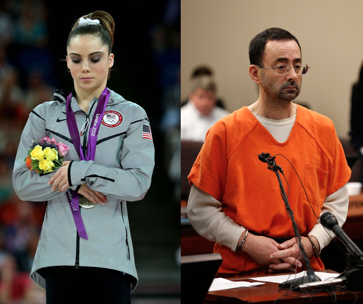 Larry was a monster. 'Gymnast McKayla Maroney speaks for first time about the sexual abuse of the medical team