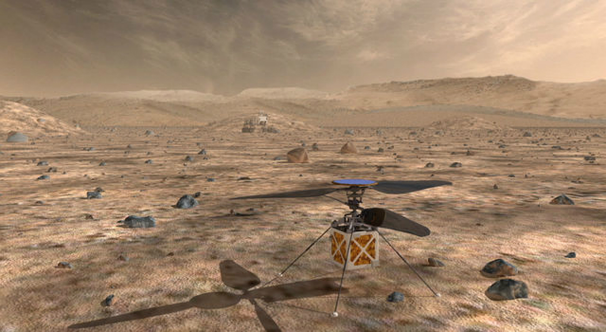 Learn helicopter! NASA sends a helicopter to Mars in 2020