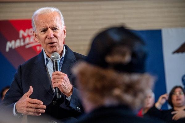 Joe Biden Empathy offensive