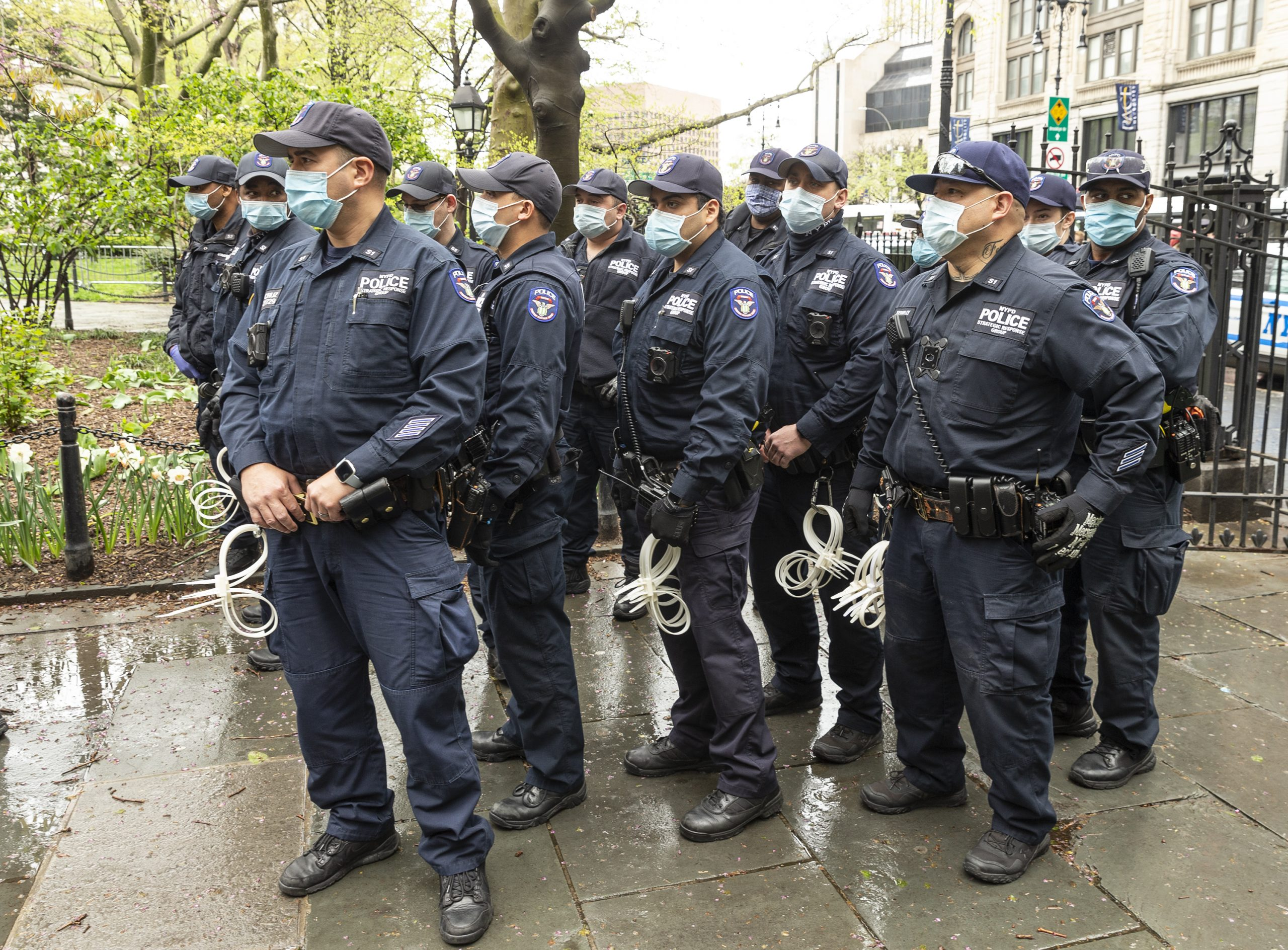 Protesting Police Brutality and racial oppression is an essential work