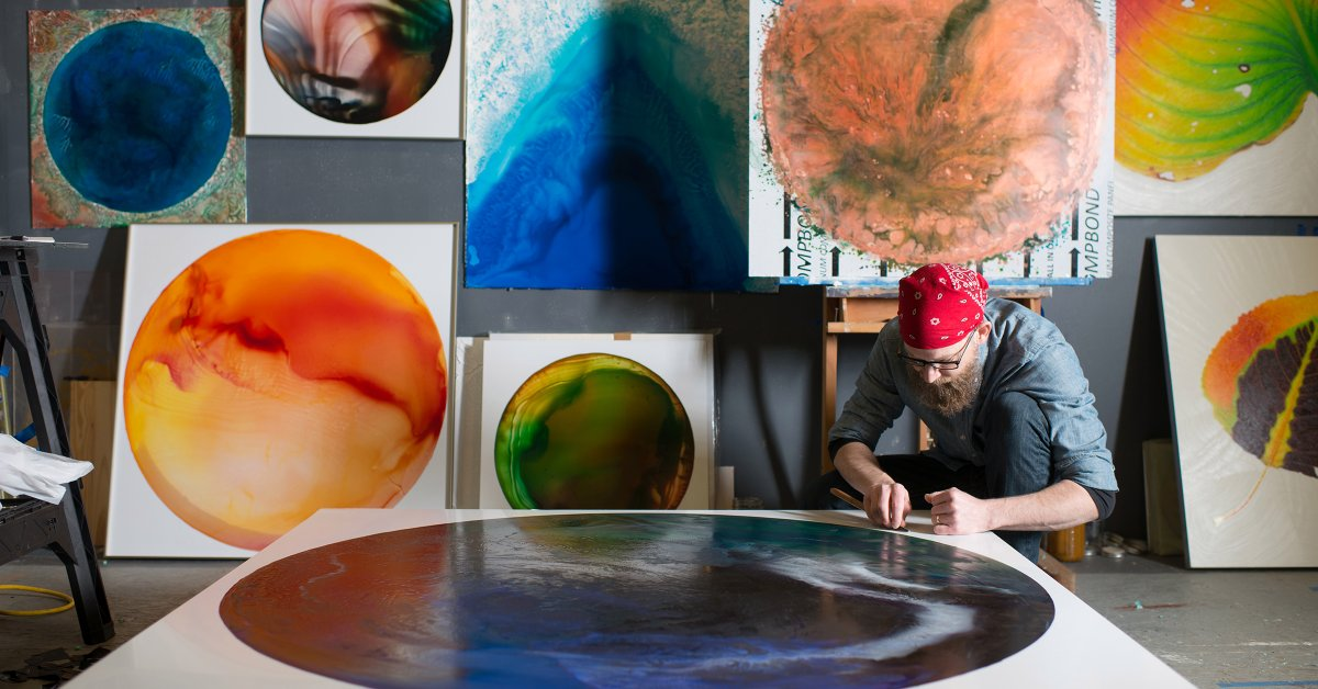 An artist and activist Ohio is transforming the acid mine pollution in Paint
