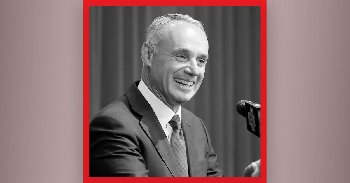 I blame myself '. MLB Commissioner Rob Manfred on baseball's labor dispute, planning for a bubble of post-season