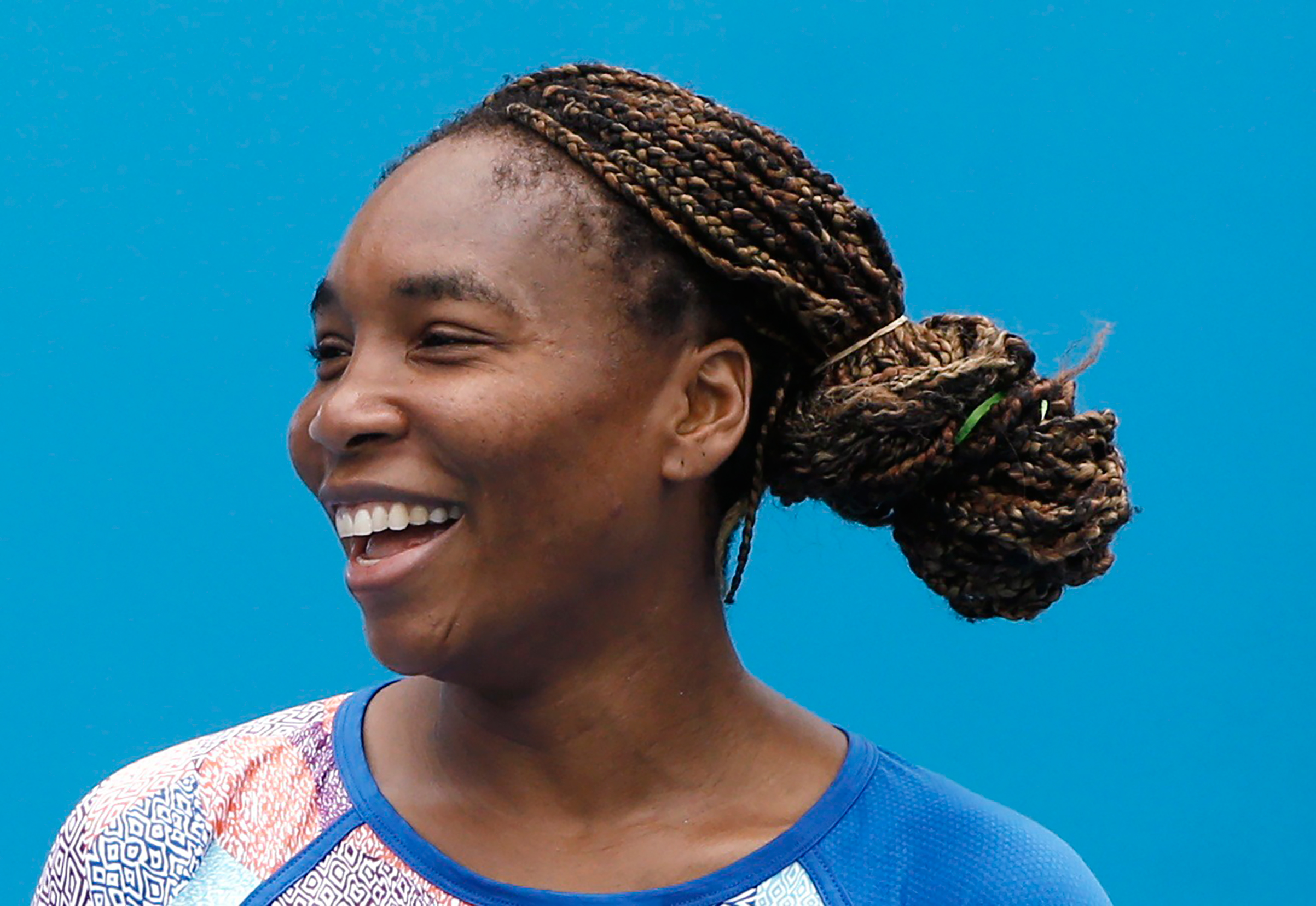 Venus Williams is still in the game on and off the field